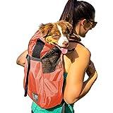 K9 Sport Sack Trainer | Dog Carrier Dog Backpack for Pets (Small, Koral)