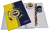 Fenerbahce Istanbul Schulset - Kinder - Schreibheft - Radiergummi - Anspitzer - 2X Bleistift FB-1
