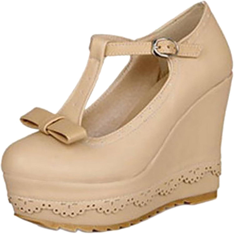 KemeKiss Women Fashion Wedge Heels Pumps