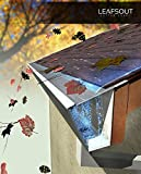 "SAMPLE: LeafsOut 5"" WIDE, DIY Micro Mesh Rain Gutter Guard – 6' LONG, Stainless Steel"