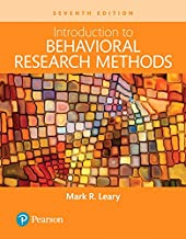 Best introduction to behavioral research methods Reviews