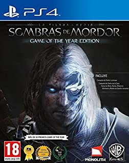 La Tierra-Media: Sombras De Mordor - Game Of The Year Edition (B00WKCGYI8) | Amazon price tracker / tracking, Amazon price history charts, Amazon price watches, Amazon price drop alerts