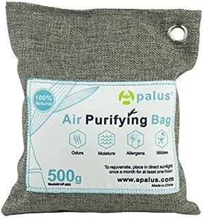 comprar comparacion Apalus ® Bolsa de Carbón Activo De Bambú, Deshumidificador Y Purificador De Aire. Ambientador Natural Eficaz y Desodorante...