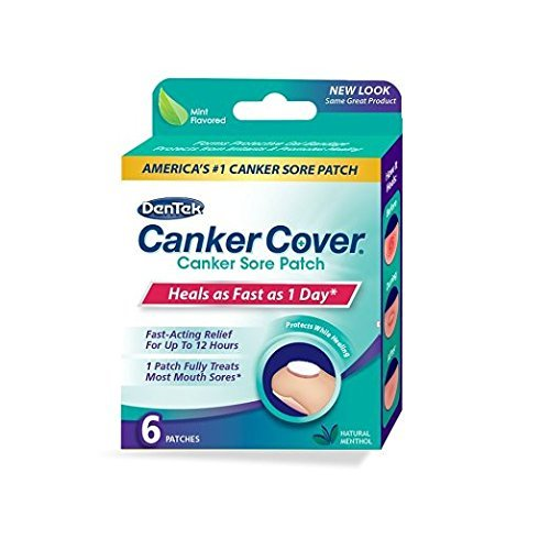 Canker Cover Patches, 6 Count Per Box