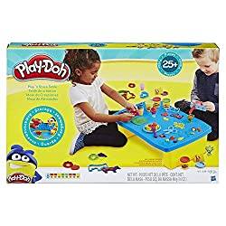 Image: Play-Doh Play 'n Store Table | Arts and Crafts | Activity Table | Ages 3 and up (Amazon Exclusive)