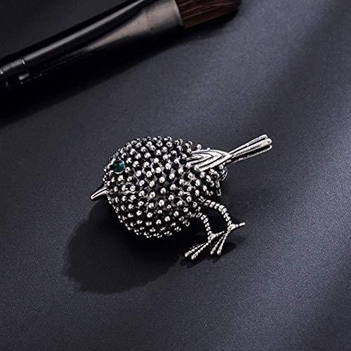 Preisvergleich Produktbild Vektenxi Magnificent Bird Vintage Herrenmode Brosche Brosche Neuheit Metall Splitter Schmuck Premium Qualität