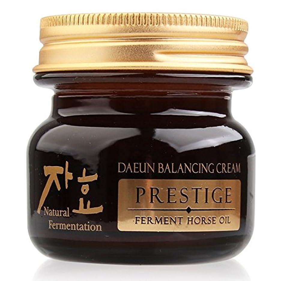 経験的胆嚢気分が良いZHAHYO Daeun Balancing Fermented Horse Oil Cream 65g/Korea Cosmetics