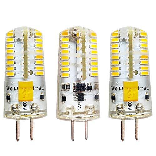 XUMI G5.3 5W LED De Maíz, Bombilla 12V CC Ahorro De Energía De La Lámpara For La Decoración Casera AC12V5W Pin Baja Tensión Crystal Light Bulbo del Maíz Resalte Fuente De Luz LED, Paquete De 3