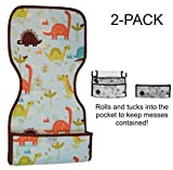 Goo-Goo Baby 2 Pack Miracle Burp Pad & Change Mat in Jurassic Trail