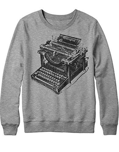 Sweatshirt Remington Typewriter H112233 Grigio XXL