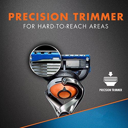 Rasoir pour Hommes Gillette Fusion5 ProGlide Power, 2 Cartouches de Rechange - 8