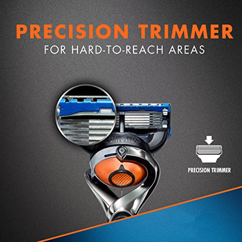 Rasoir pour Hommes Gillette Fusion5 ProGlide Power, 2 Cartouches de Rechange - 3