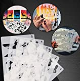 Googstage Fast Draw Stencil Art Templates(12 Sheets/Set) -Sunnymode (Set 1)