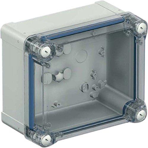 Schneider elec pue - pbo 11 10 - Caja industrial policarbonato 291x241x128 tapa transparente
