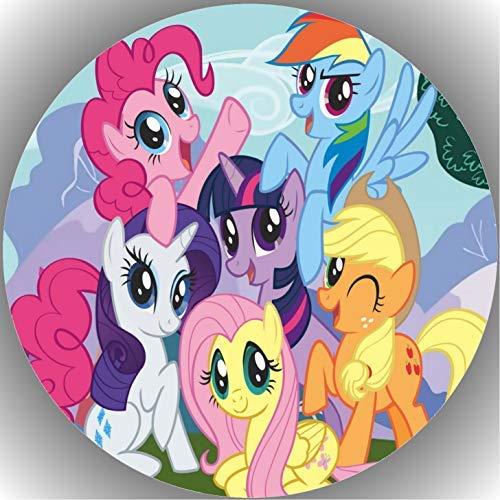 Fondant Tortenaufleger Tortenbild Geburtstag My Little Pony T14
