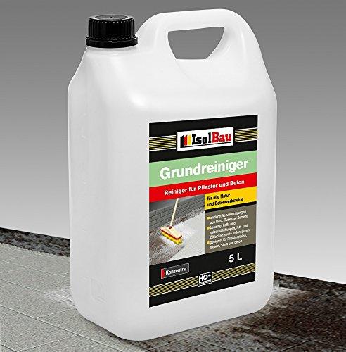 5 Liter GRUNDREINIGER -Konzentrat Intensiv Naturstein Reiniger Marmor Fliesen, Stein und Beton