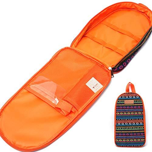 Aidou Estilo étnico al aire libre tabla de cortar bolsa de utensilios de cocina portátil bolsa de almacenamiento bolso de camping