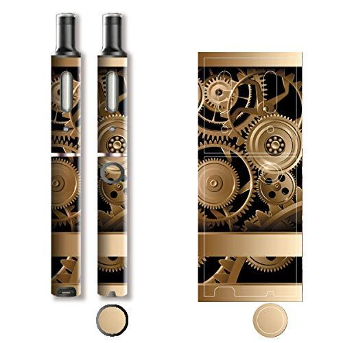 電子たばこ タバコ 煙草 喫煙具 専用スキンシール 対応機種 プルーム テック プラス Ploom TECH+ Ploom Tech Plus Metal (メタル) イメージデザイン 03 Metal (メタル) 01-pt08-0043
