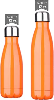 DKASA Stainless Steel Vacuum Insulated Water Bottle,Cola Shaped,Business Convenience,Perfect for Outdoor Sports Camping Hi...