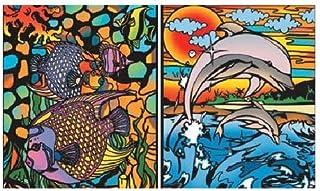 Colorvelvet Dolphins Ring Binder, Multi-Colour, C7