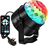 Gearmatte Disco Lights Ball for Kids birthday Party Rotating Pub Outdoor Bedroom
