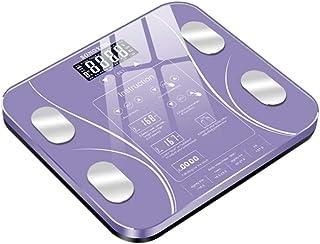 Báscula Analizador De Índice Corporal Básculas De Pesaje Inteligentes Electrónicas Báscula De Grasa Corporal Para Baño Peso Humano Digital Básculas Mi Piso Lcd
