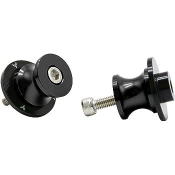 Twall Black 6MM CNC Swingarm Spools For Yamaha MT-09 Tracer 2015-2017