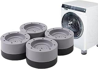 4 stukken Wasmachine Voetpads Anti Trillingen Anti Slip Rubber Pad Wasmachine Anti-Vibratie Pad Voorkom Lawaai Bescherm en...