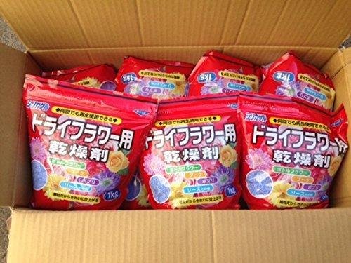 豊田化工 ドライフラワーシリカゲル 1kg 15袋セット(計15kg) 細粒タイプ
