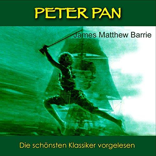 Peter Pan audiobook cover art