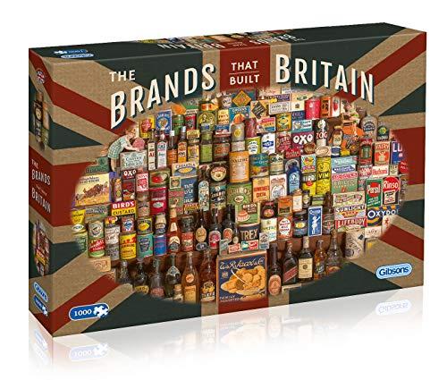Gibsons - Puzzle (1000Teile), die Marke, die Großbritannien baut