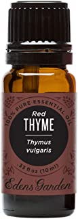 Edens Garden Red Thyme Essential Oil, 100% Pure Therapeutic Grade, 10 ml