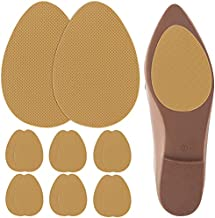 Urchoice Non-Skid Shoe Pads, 6 Pairs Non-Slip Shoe Stickers Self-Adhesive Shoe Sole Protectors for Man and Women (Yellow)
