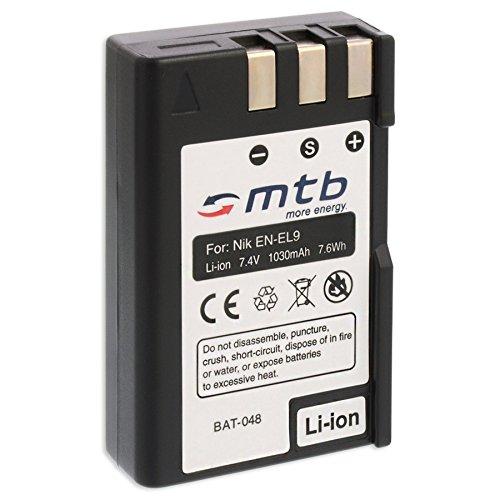 Batería EN-EL9 para Nikon D40, D40x, D60, D3000, D5000