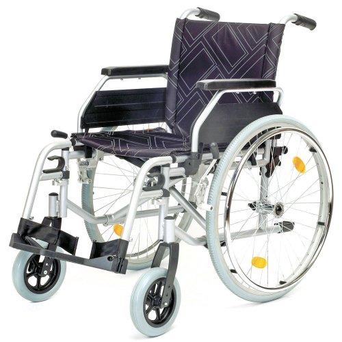 Servomobil M1 845 Rollstuhl aus Stahl, 43-45 cm Sitzbreite