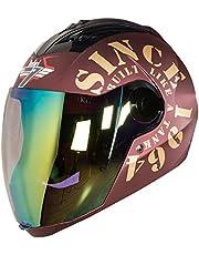 Steelbird SBA-2 TANK with Night Vision visor in Matt Finish