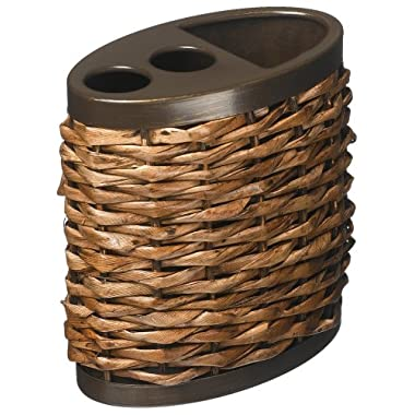 Tommy Bahama, Retreat Collection, Wicker Toothbrush Holder