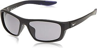 نظارات شمسية نايك برازن بوست سي تي للجنسين باطار اسود 57 ملم