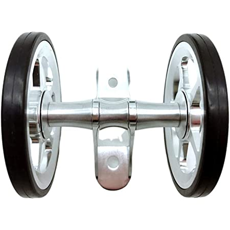 Double Mudguard Roller For BROMPTON Lightweight SILVER
