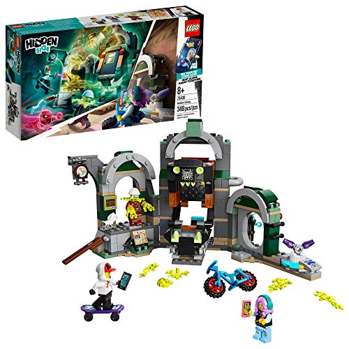 LEGO Hidden Side Newbury Subway 70430 Ghost Toy, Cool Augmented Reality Play Experience for Kids, New 2020 (348 Pieces)