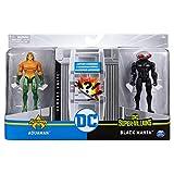 DC Comics Pack de dos Figuras Acción Liga de la Justicia 10 cm. Aquaman Black Manta (BIZAK...