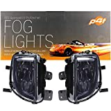 Lot de phares antibrouillard H8 pour Golf 6 VI à partir de 08-13 5K GTI GTD Verre transparent Noir