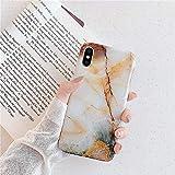 herbests compatibile con iphone xs max cover silicone ultra sottile morbido tpu protettiva case marmo custodia antiurto flessibile gomma cover custodia,marmo-2