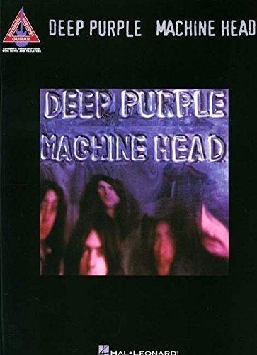 Deep Purple Machine Head Guitar Recorded Version Gtr Tab Book
