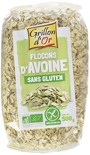 Grillon d'or Flocons d'Avoine 500 g Bio - Sans gluten