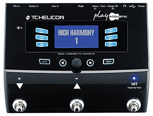 TC HELICON Play Effektpedal für Vocal FX und Guitar FX