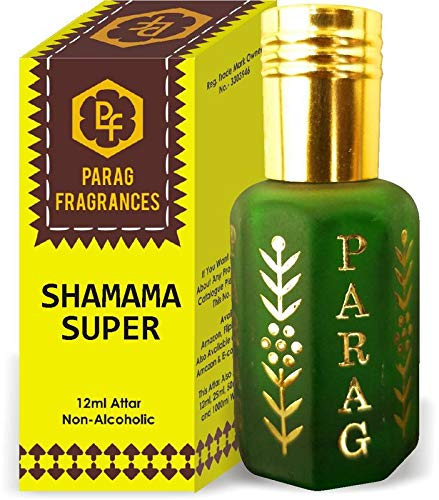 Parag Fragrances Shamama Super Attar 1 Tola / 12ml (Crystal Series) (Limited Time Launching Offer Pack) Natural Distiled Attar/Alcohol Free Attar/Long Lasting Attar