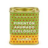 LA PASTORA | Producto Gourmet | Pimentón Ahumado Ecológico | 75 gr. | 100% Natural | Pimentón en Polvo | Potente Antioxidante | Apto Para Celíacos | Condimenta Tus Comidas | Pimentón Español