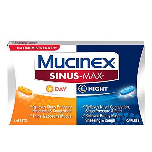 Mucinex Sinus-Max Max Strength Day & Night Caplets 20 ct