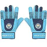Manchester City FC - Guantes de portero oficiales - Para niños - Niños: 5-10 años